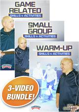 Ian Barker's Skills and Activities for Soccer 3-Pack
